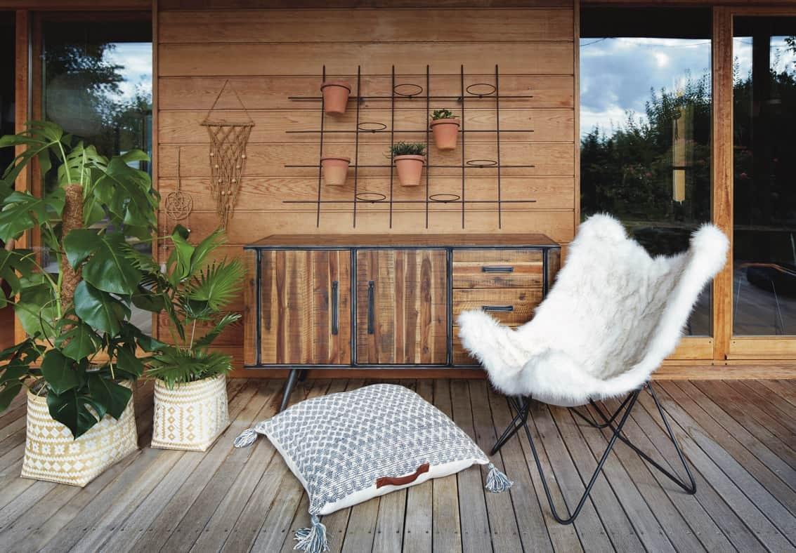 chaise extérieur cosy haute qualité