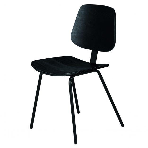 chaise bois noire