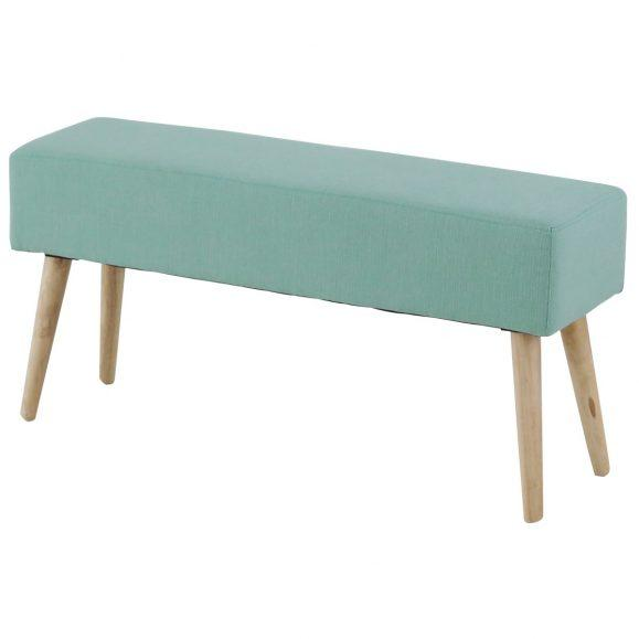 Banc velours coloré