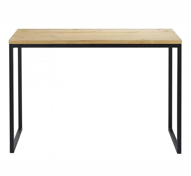 bureau massif 110cm. Black Bedroom Furniture Sets. Home Design Ideas
