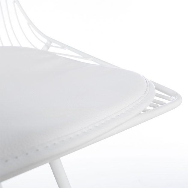 chaise assise confortable géométrique tendance