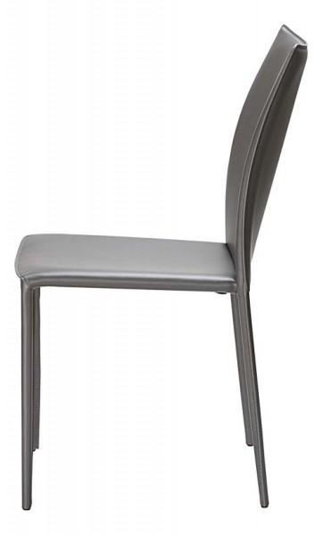 chaise grise classique