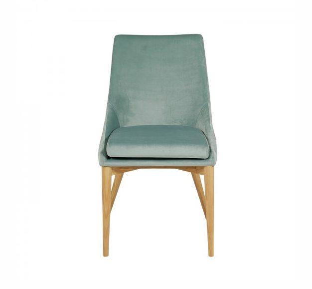 Chaise en velours confort 1