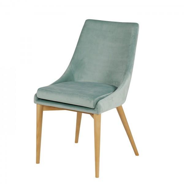 Chaise en velours confort 2