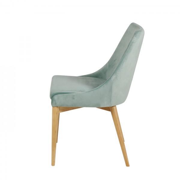 Chaise en velours confort 3