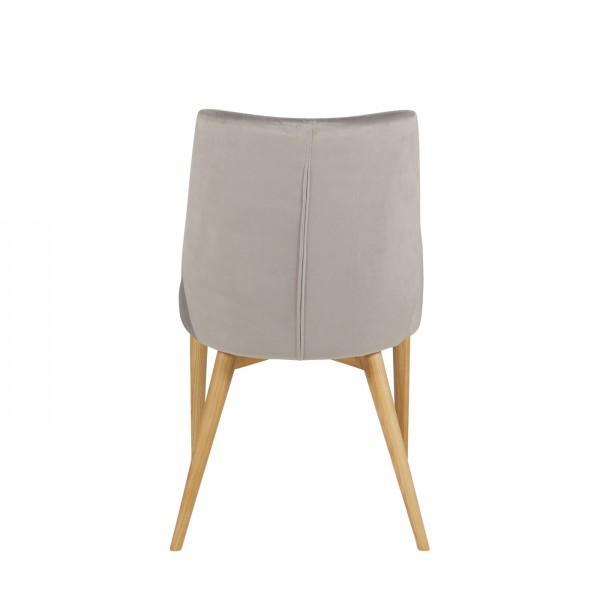 Chaise en velours confort 7