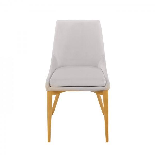 Chaise en velours confort 8