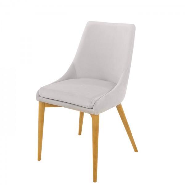 Chaise en velours confort 9