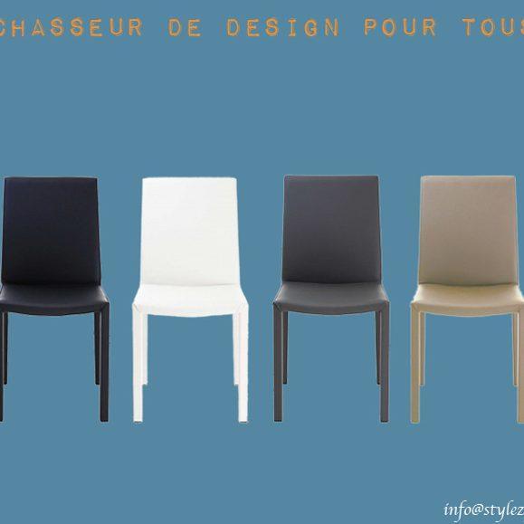 chaise classique couleurs