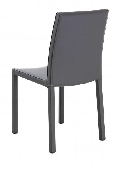 chaise moderne grise