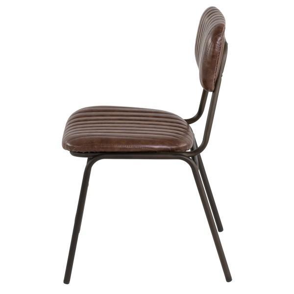 chaise ancienne moderne simili cuir