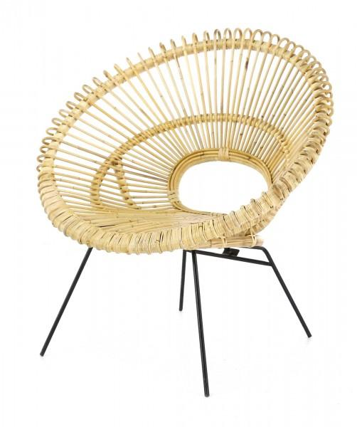 fauteuil en rotin fauteuil rond en rotin diametre 85cm. Black Bedroom Furniture Sets. Home Design Ideas