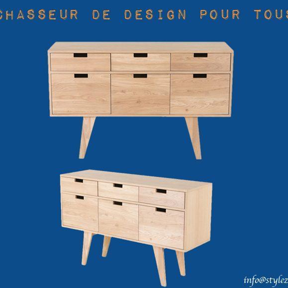 meuble rangements pratique bois naturel