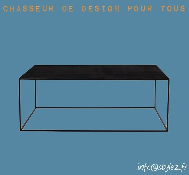 Table basse Tron
