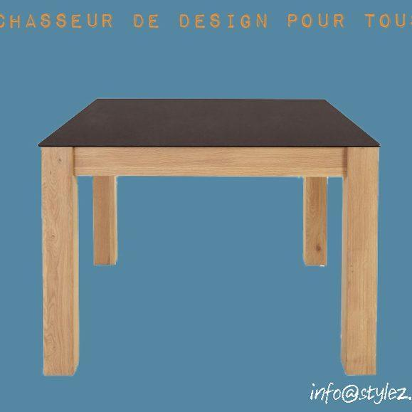 table carre plateau original design