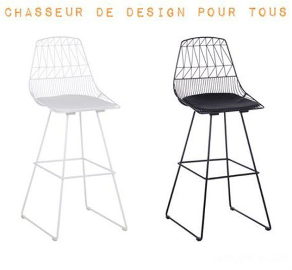 chaise de bar haute design