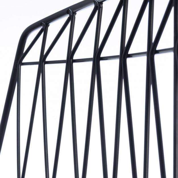chaise de bar haute noir