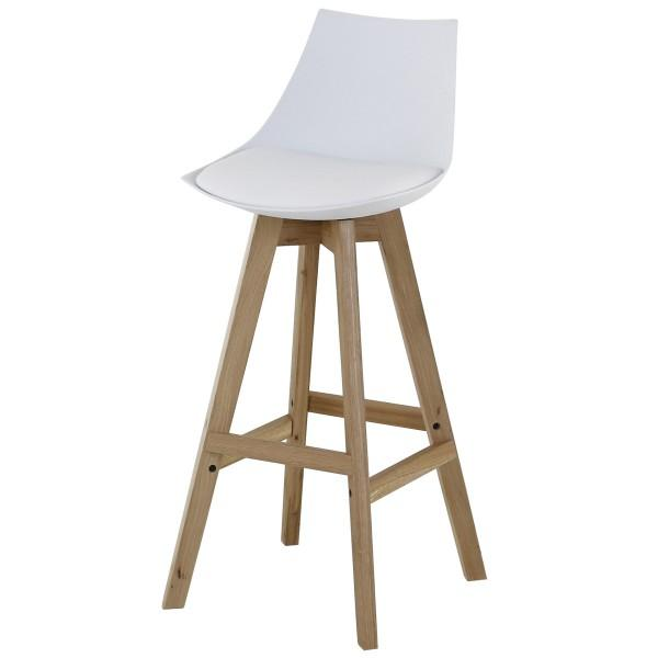 chaise de bar tabouret style scandinave