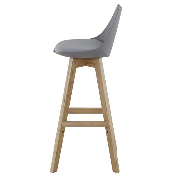 tabouret style scandinave couleurs grise
