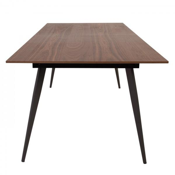 table en noyer abys style scandinave