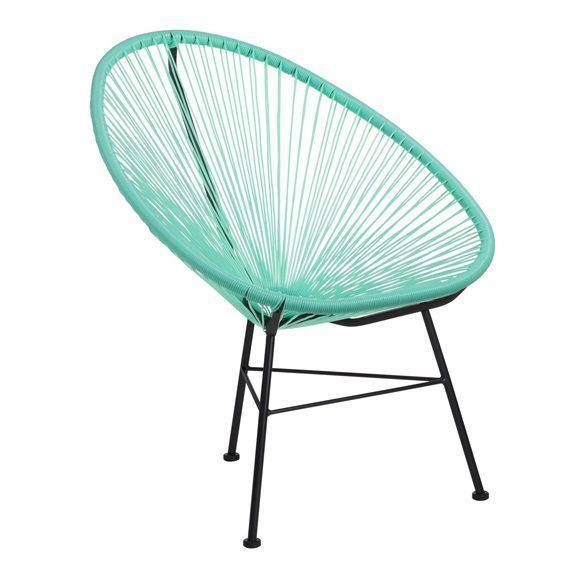 chaise jardin rayons extérieur confortable