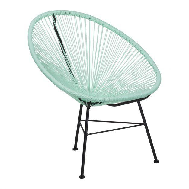 fauteuil vert eau acapulco