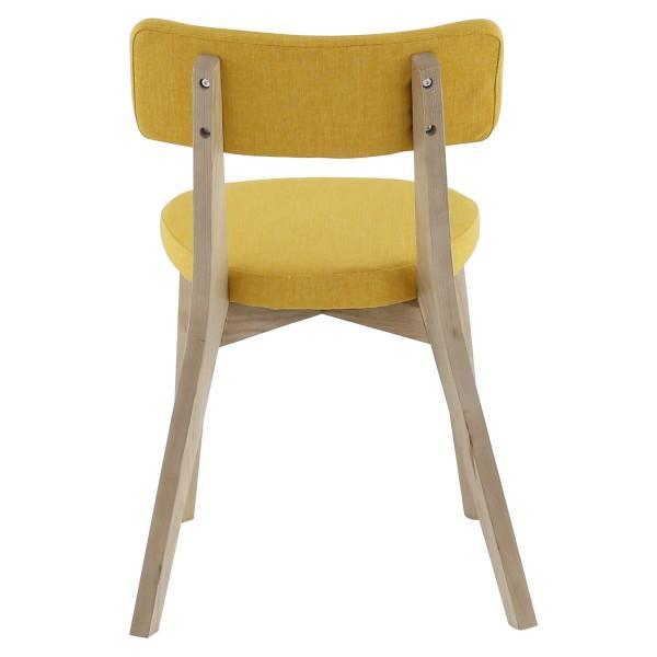 chaise alison jaune