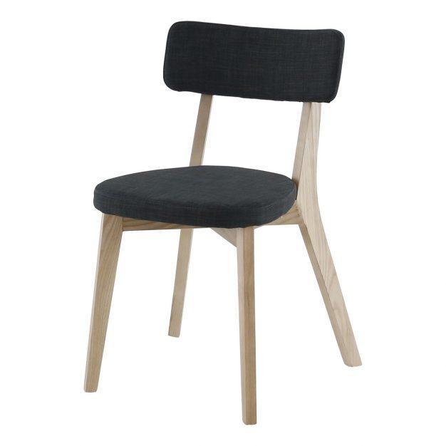 chaise alison bleu nuit