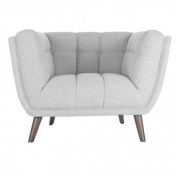 fauteuil nuage gris clair design