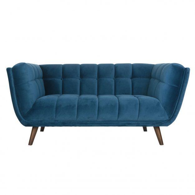 canapé nuage confortable bleu design