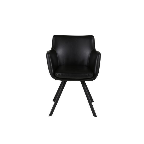 fauteuil carl couleurs noir