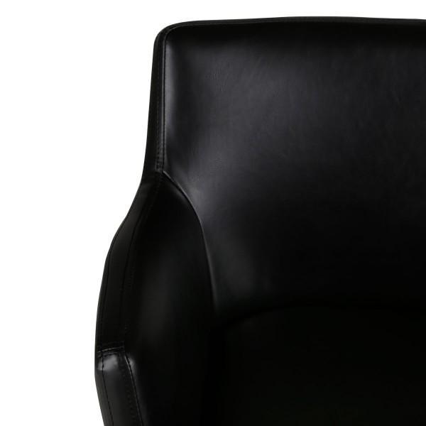fauteuil carl noir