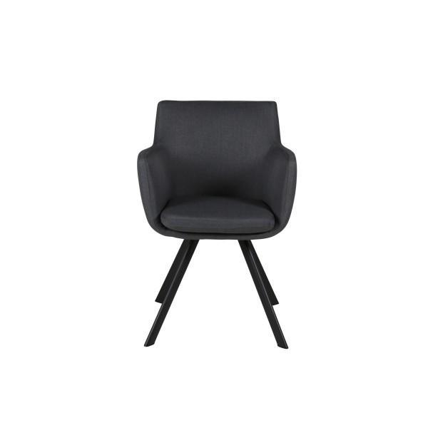fauteuil carl gris moderne