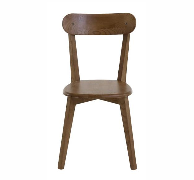 chaise bois robuste bar vintage