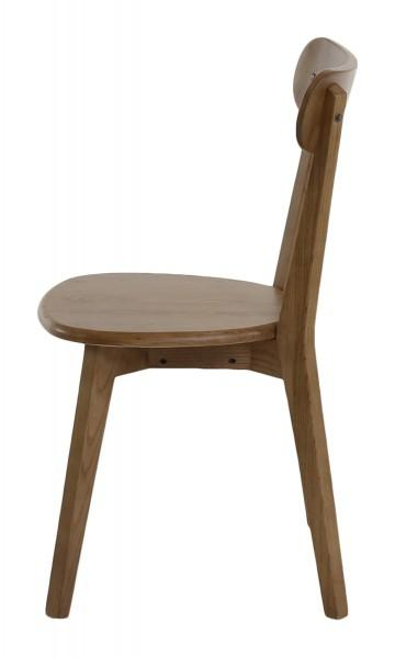 chaise bar marron dossier bois