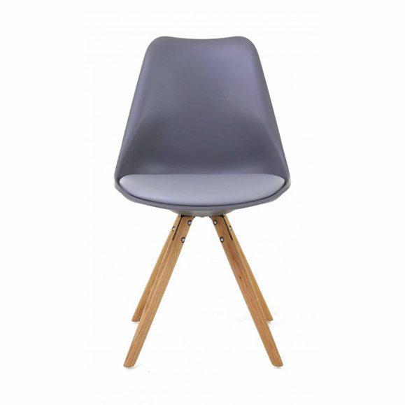 chaise scandinave assise rembourrée design