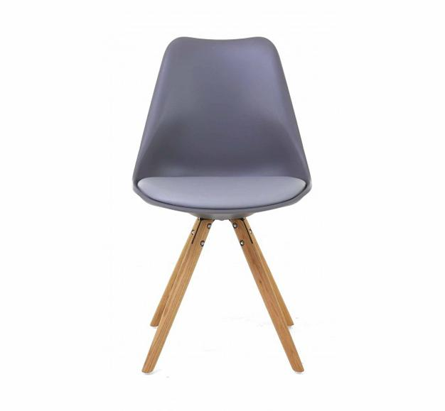 chaise scandinave assise rembourrée design