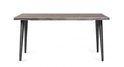 table en pieds métal noir cusco