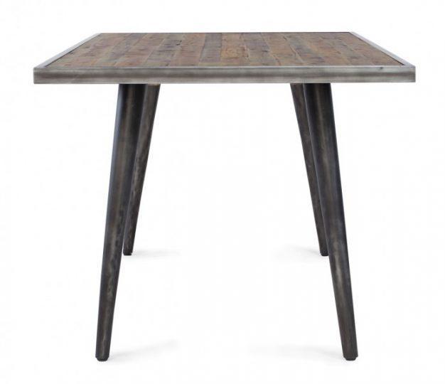 table cusco pieds en métal
