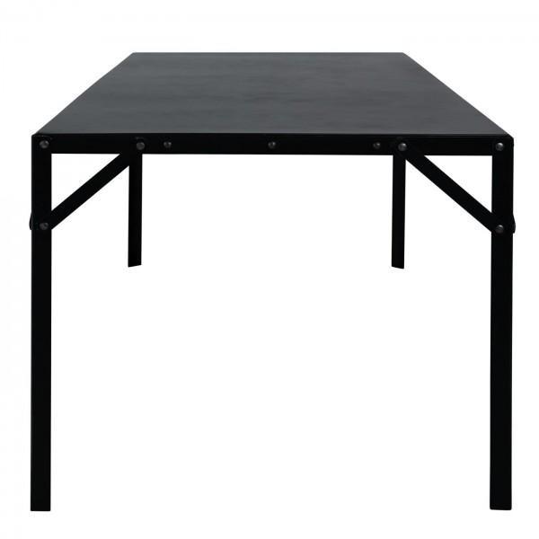 table falco noire moderne