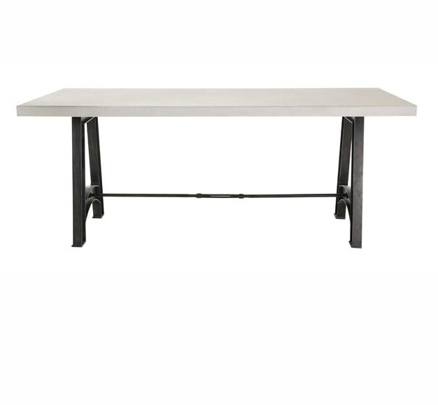 table graph blanche