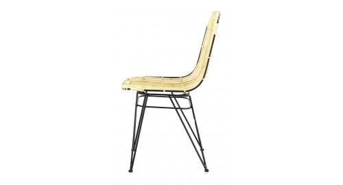 chaise design chic rotin naturel
