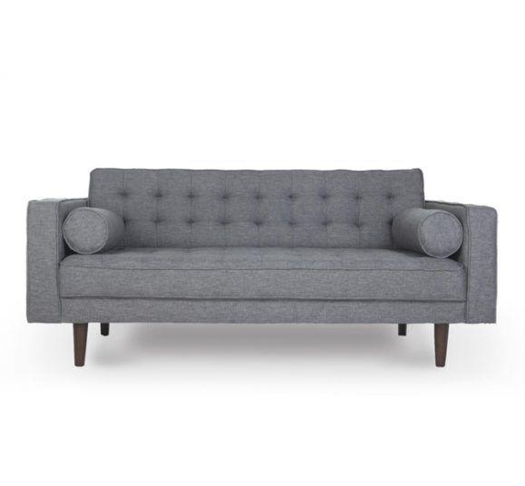 canapé opal gris confortable