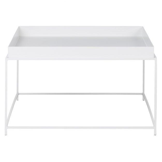 table tendance blanche mate