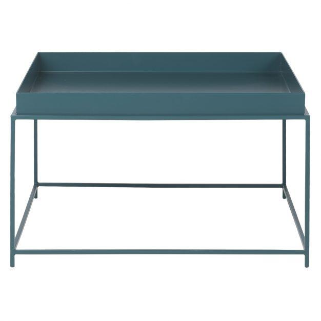 table bleu canard tendance mate