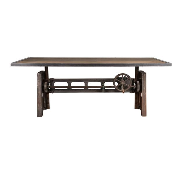 table vintage marron ancienne