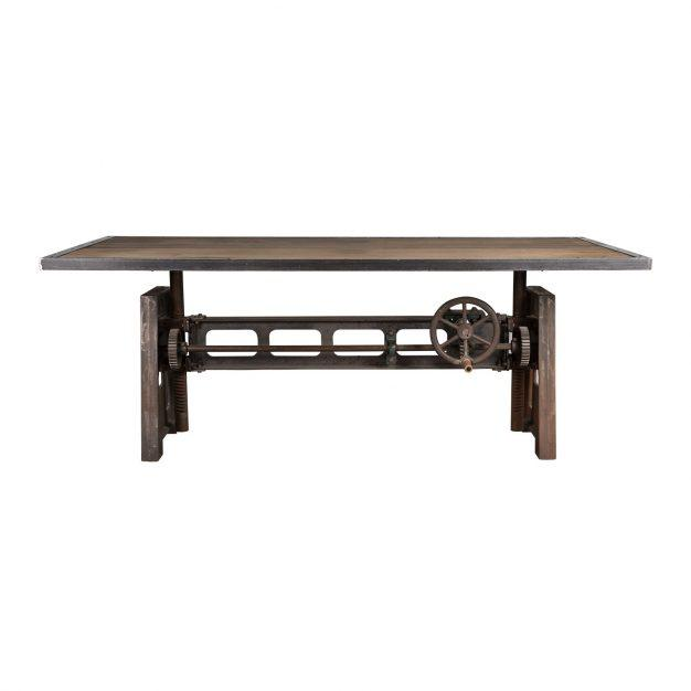 table vintage type vieillie