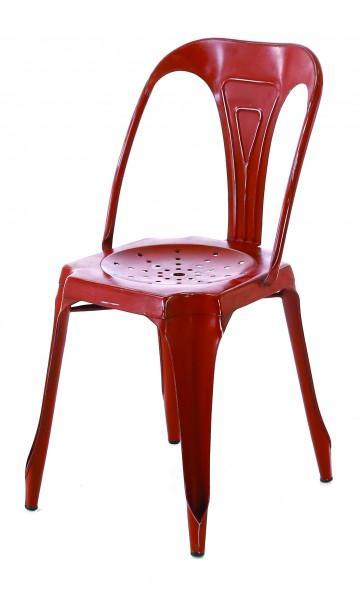 chaise moderne rouge haute qualité