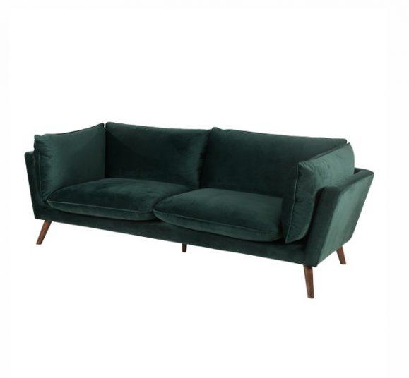 canapé design confortable vert d'eau