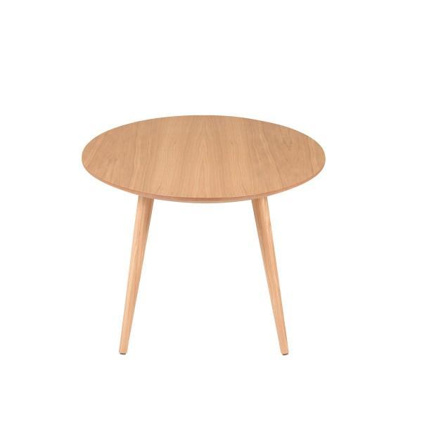 table plateau ronde tout bois